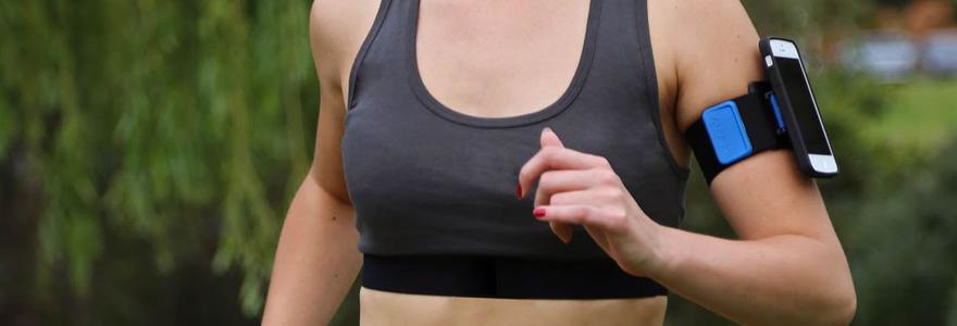 A quoi sert un brassard iPhone dans le cadre d'un entraînement cardio ?